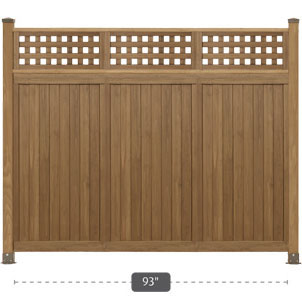 fence panels. Unique Panels PANELS WITH TOPPERS And Fence Panels