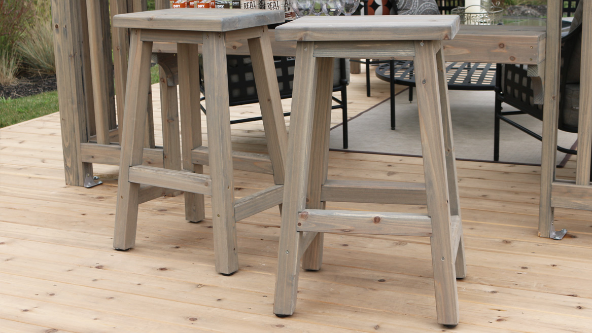 Image of: Madison Outdoor Bar Stools Yardistry Structures Gazebos Pavilions And Pergolas