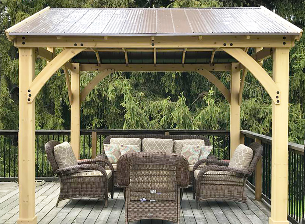 """Pictured here is the <a href=""""https://www.yardistrystructures.com/carolina-pavilion"""">Carolina Pavilion</a>"""